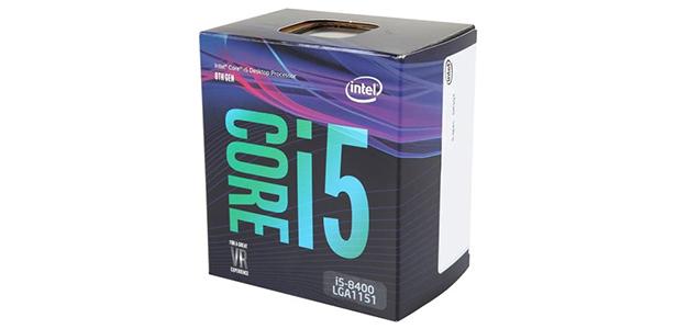 Lựa chọn CPU chơi game 2017: Intel Core i5-8400
