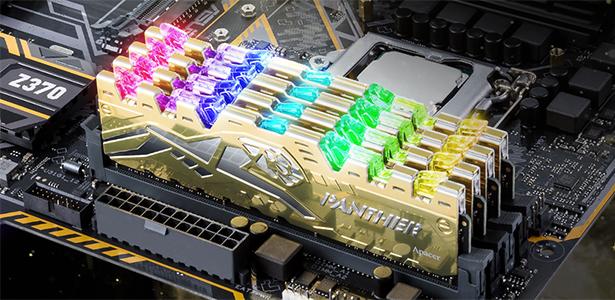 Apacer PANTHER RAGE DDR4 RGB tỏa sáng trước mọi đối thủ
