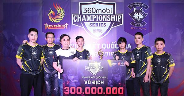 VEC Fantasy Main đại diện Việt Nam thi đấu Mobile Legends: Bang Bang ở SEA Games 30