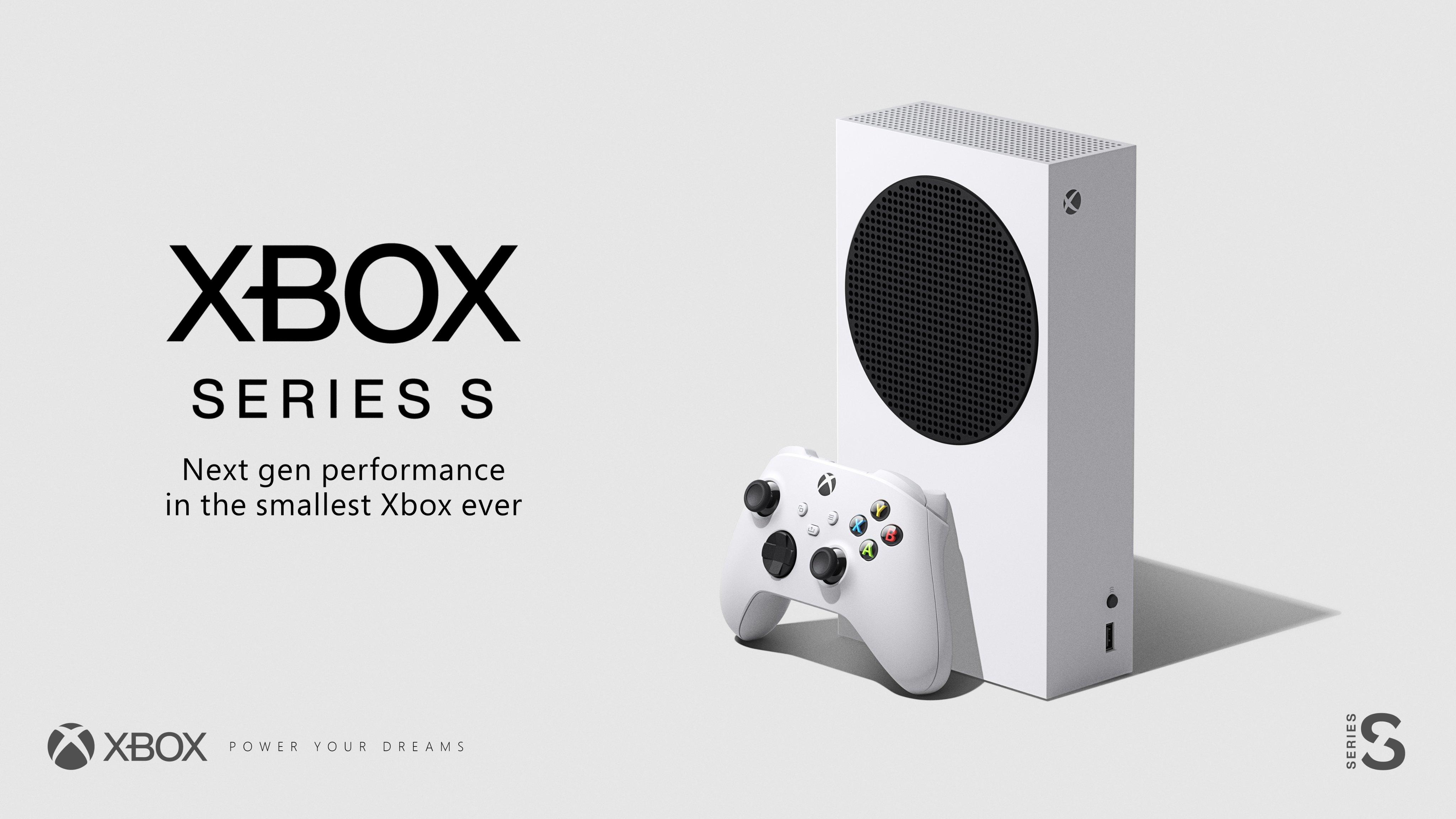 Máy chơi game Xbox Series S giá 299USD, ngày 10/11 ra mắt