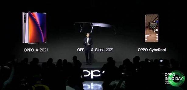Thông tin chi tiết bộ ba công nghệ mới OPPO AR Glass 2021, OPPO CybeReal AR và OPPO X 2021