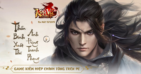 Kiếm Vũ Giang Hồ 3D đánh dấu sự trở lại của dòng game kiếm hiệp nhập vai trên PC