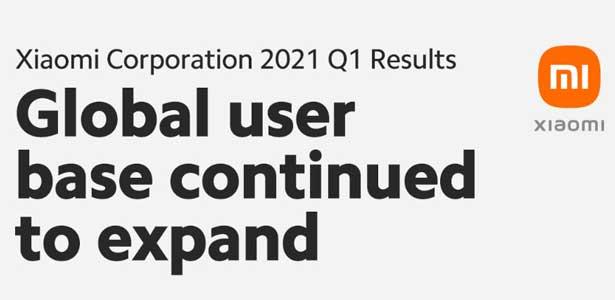 Xiaomi công bố kết quả kinh doanh quý 1 năm 2021: Doanh thu và lợi nhuận quý ghi nhận mức tăng trưởng cao lịch sử