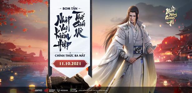 Nhất Mộng Giang Hồ VNG chính thức ra mắt hôm nay 11/10