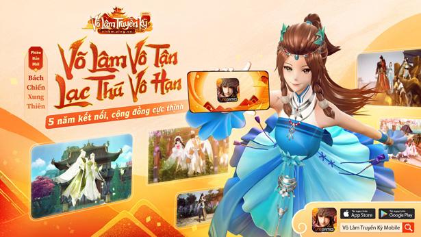 Top 9 phiên bản làm nên tên tuổi Võ Lâm Truyền Kỳ Mobile